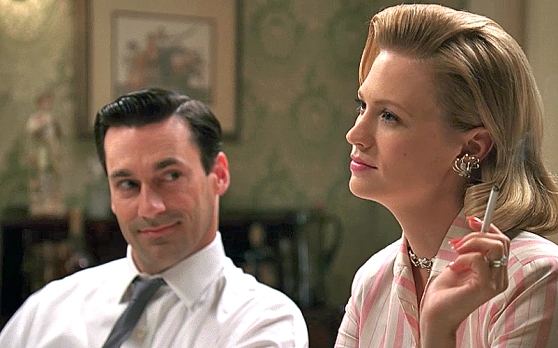 Mad-Men-Don-Draper-y-Betty-Draper