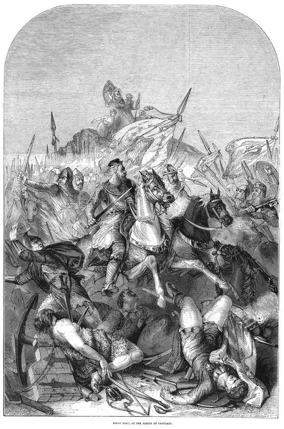 Brian-Boru-en-la-Batalla-de-Clontarf