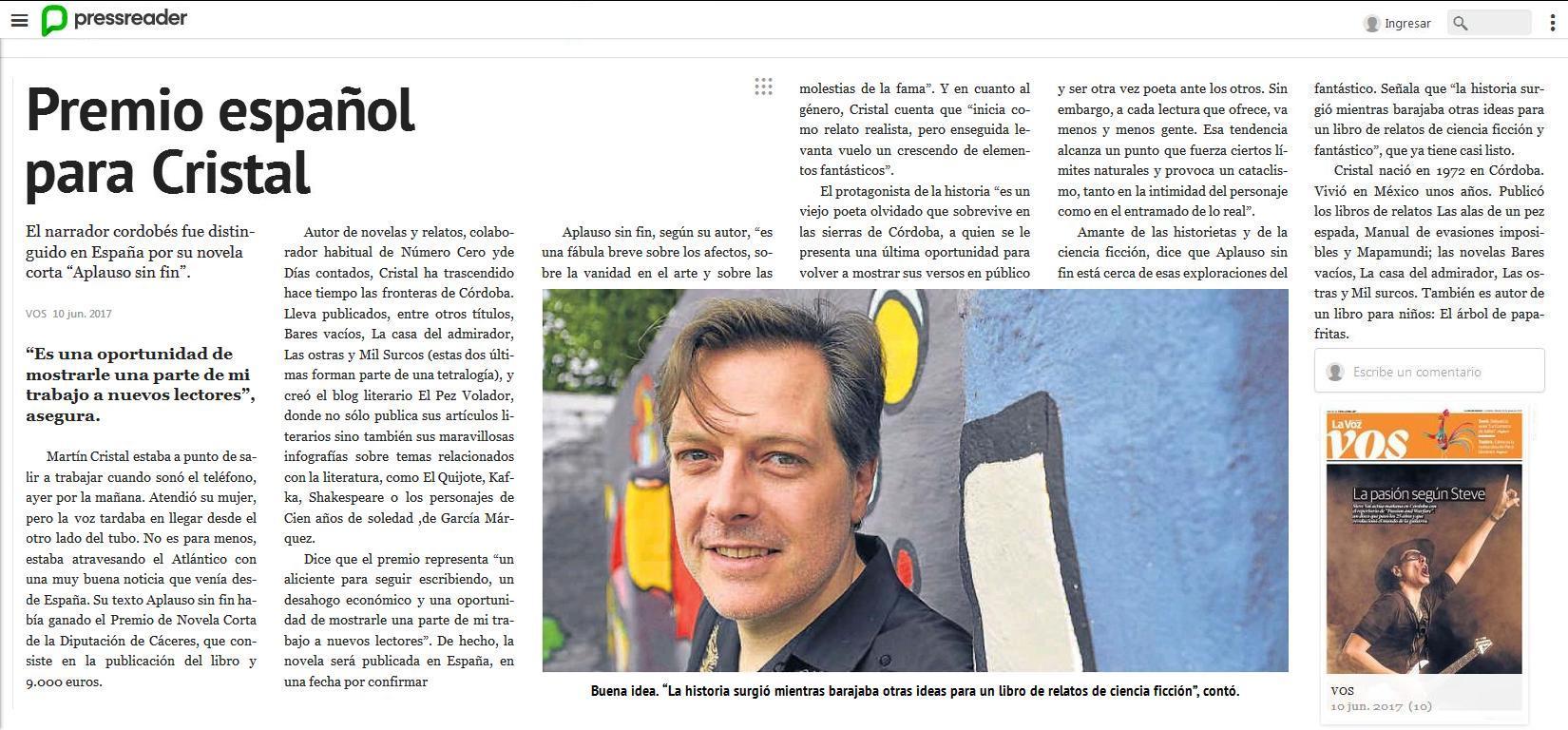 El pez volador – Página 2 – Blog de literatura de Martín Cristal ...
